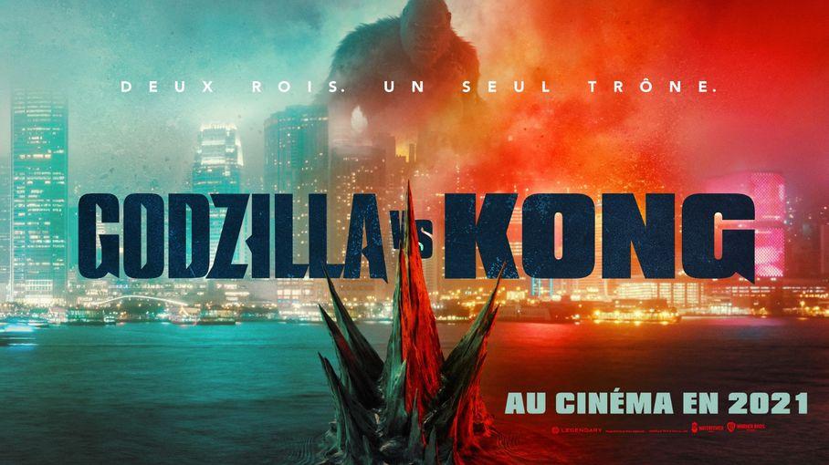 """""""Godzilla vs Kong"""", plus gros succès du cinéma mondial depuis le début de la pandémie de Covid-19"""