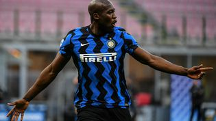 L'attaquant belge Romelu Lukaku va quitter l'Inter Milan. (ISABELLA BONOTTO / AFP)