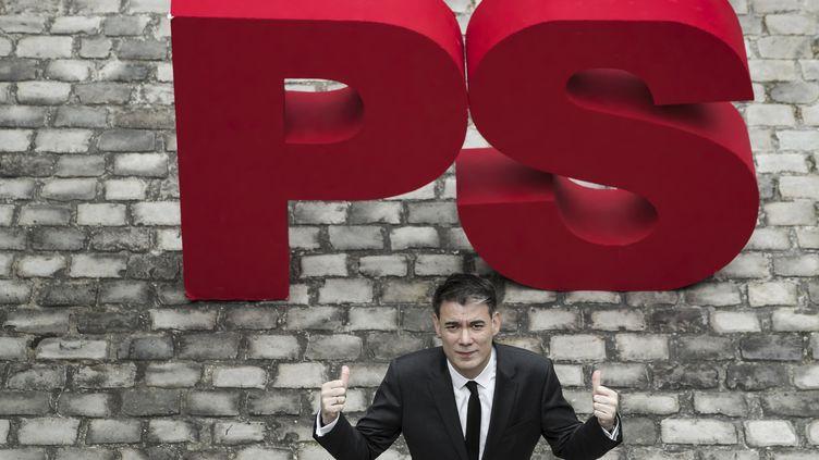 Olivier Faure, Premier secrétaire du Parti socialiste. (JOEL SAGET / AFP)