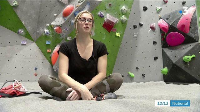 Escalade : Julia Chanourdie, une grimpeuse aux Jeux olympiques