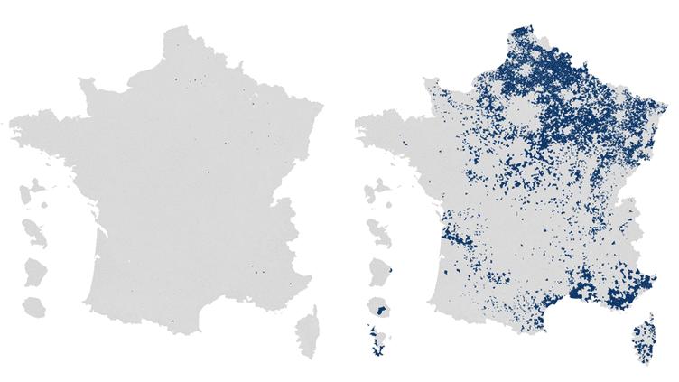 CARTE. Présidentielle : l'évolution du vote FN au second tour entre 2002 et 2017 en gif animé (FRANCEINFO)