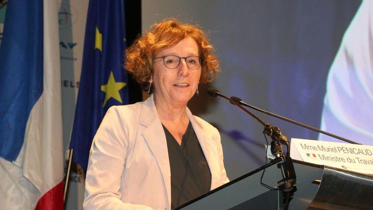 La ministre du Travail, Muriel Penicaud, à Biarritz (Pyrénées-Atlantiques),le 31 janvier 2018. (MAXPPP)