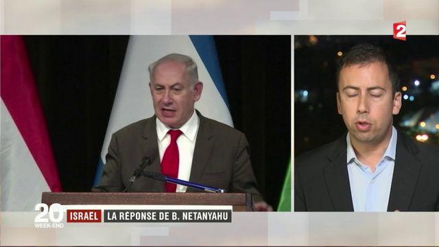Israël : la réponse de Benyamin Netanyahou