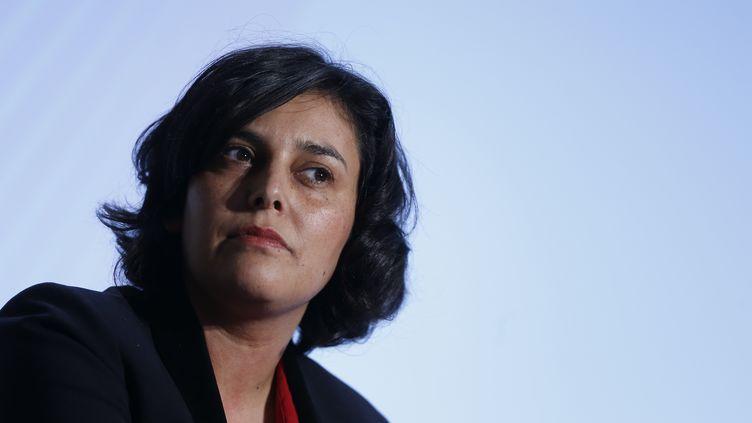 La ministre du Travail, Myriam El Khomri, le 3 février 2016 à Paris. (THOMAS SAMSON / AFP)
