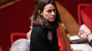 Aurélie Filippetti, députée PS de la Moselle, le 1er mars 2016 à l'Assemblée nationale à Paris. (MAXPPP)