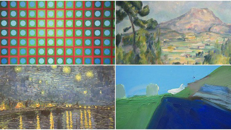 Vasarely, Cezanne, van Gogh, de Staël quatre peintres à travers les siècles inspirés par la Provence  (France 3 / Culturebox )