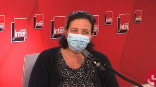 Frédérique Vidal, ministre de l'Enseignement supérieur, de la Recherche et de l'Innovation, le 27 avril sur France Inter. (FRANCEINTER / RADIOFRANCE)