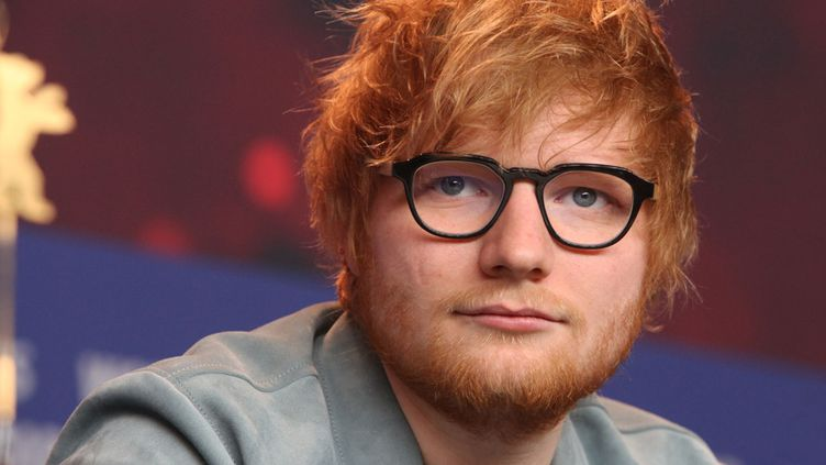 Ed Sheeran en conférence de presse à la Berlinale (23 février 2018)  (Aventurier / Sipa)