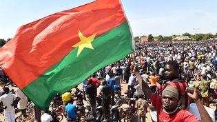 Des manifestants à Ouagadougou (Burkina Faso), le 31 octobre 2014. (ISSOUF SANOGO / AFP)