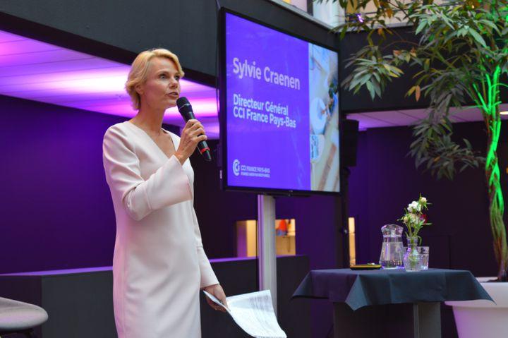 """Sylvie Craenen :""""Les profils francophones sont très demandés ici : des commerciaux, dans l'export, les finances le contact avec la clientèle. Il y a de nombreux centres d'appels"""" (Photo CCI France Pays-Bas)"""
