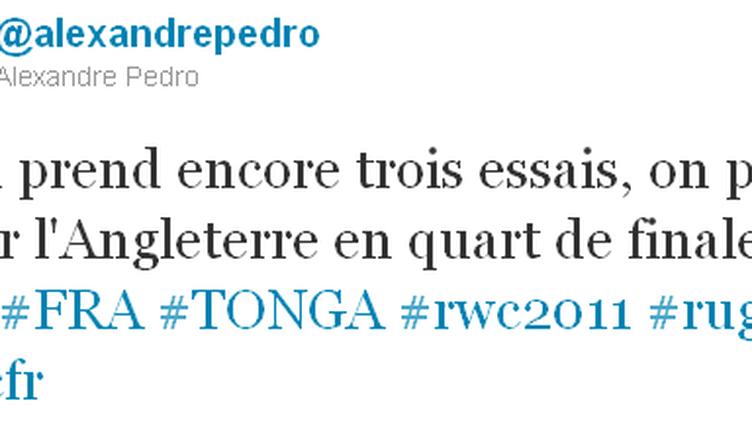 (Radio France ©Copie d'écran Twitter)