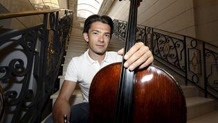 Le violoncelliste Gautier Capuçon à Nice (Alpes-Maritimes) le 31 juillet 2020 (DYLAN MEIFFRET / MAXPPP)