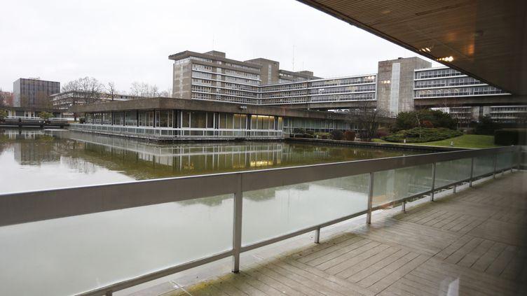 La préfecture de l'Essonne, à Evry, le 14 décembre 2012. (PIERRE VERDY / AFP)