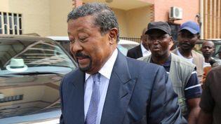 Jean Ping, candidat de l'opposition à l'élection présidentielle du 27 août 2016. Ancien baron du régime d'Omar Bongo, il a claqué la porté du parti présidentiel en 2014. (Photo AFP/Samir Tounsi)