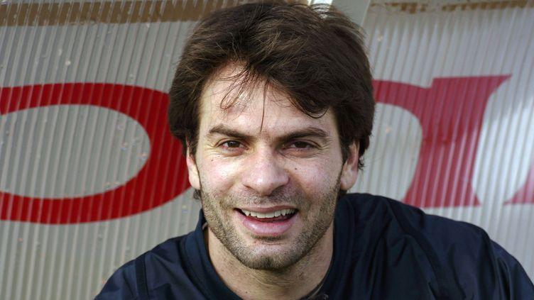 Christophe Diminici, le 10 février 2004. (MARTIN BUREAU / AFP)