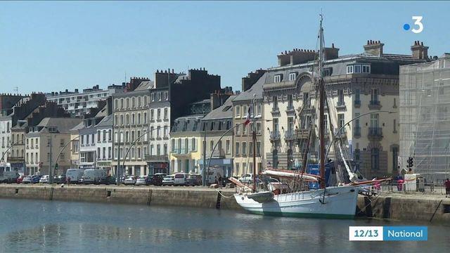 Cherbourg : le Mutin, plus vieux navire de la Marine, en escale