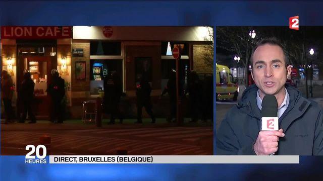 Fusillade à Bruxelles : l'opération de police s'est achevée