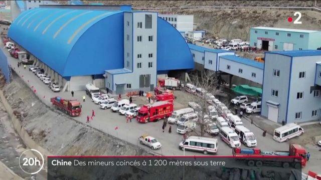 Chine : 21 mineurs coincés à 1 200 mètres sous terre