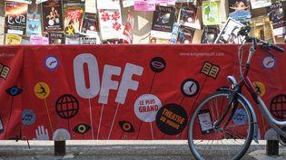 Une affiche du Off d'Avignon en 2013. Le festival a lieu chaque année au mois de juillet dans la cité des papes. (20 MINUTES/SIPA)