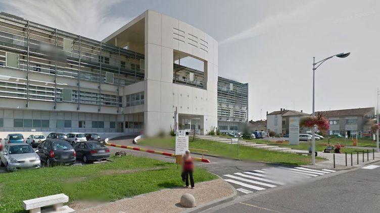 L'hôpital de Marmande (Lot-et-Garonne), en septembre 2012. (GOOGLE STREET VIEW / FRANCETV INFO)