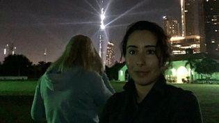 La princesse Latifa à Dubaï dans une vidéo diffusée au Royaume-Uni le 16 février 2021 sur la BBC et Skynews (CAPTURE D'ECRAN SKYNEWS)