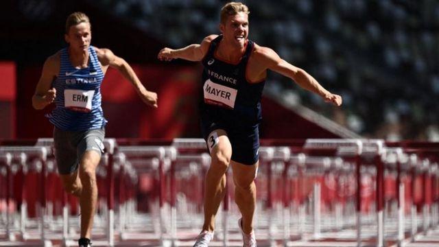 Athlétisme : Kevin Mayer se rapproche du podium après le 110 m haies