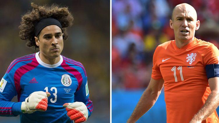 Le Mexicain Ochoa face à Néerlandais Robben en huitièmes de finale du Mondial