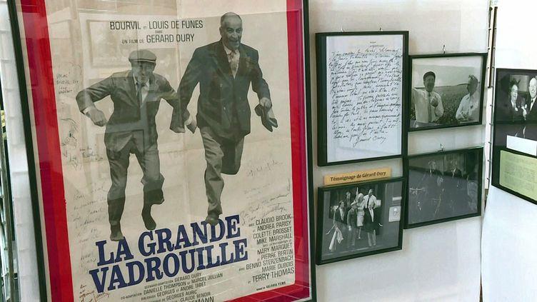 """Exposition """"Le cinéma de Bourvil"""" au Palais Rihour de Lille (France 3 Hauts de France)"""