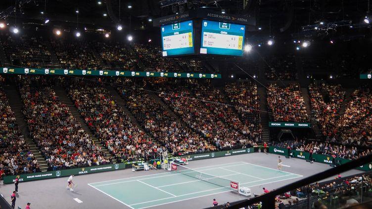 L'Accor Arena n'accueillera que 1000 spectateurs par jour pendant le Masters 1000 de Paris. (RICCARDO MILANI / HANS LUCAS)