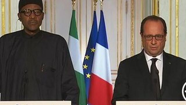 """François Hollande juge """"nécessaires"""" des frappes aériennes en Syrie"""