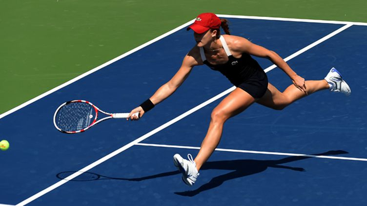 La Française Alizé Cornet au 3e tour de l'US Open (TIMOTHY A. CLARY / AFP)