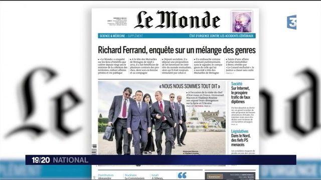 Affaire Richard Ferrand : le ministre réagit suite aux nouvelles révélations du Monde
