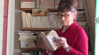 """Gisèle Bienne publie """"L'homme-frère"""" chez Actes-Sud. (Valentin CRUARD / FRANCE 3)"""