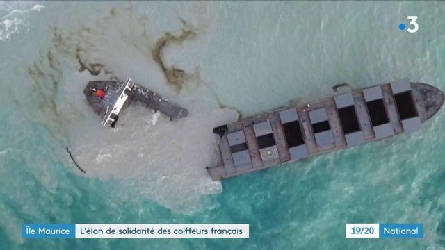 Marée noire à l'île Maurice : l'élan de solidarité des coiffeurs français