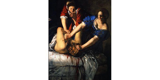 Artemisia Gentileschi, Judith et Holopherne, 1612, Naples, Museo Nazionale di Capodimonte  (Fototeca Soprintendenza per il PSAE e per il Polo museale della città di Napoli)