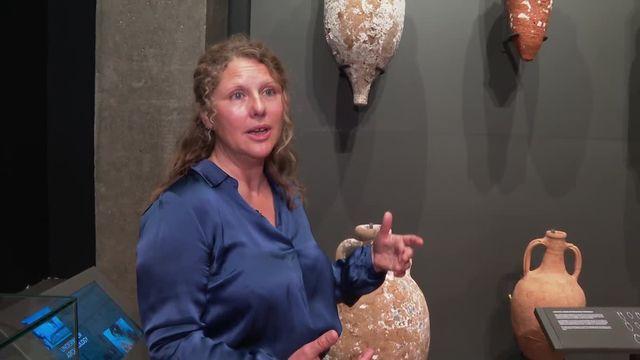 Inauguration du musée archéologique  de Mariana en Corse
