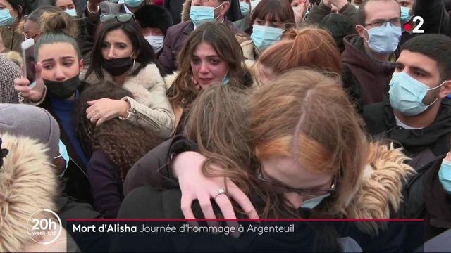 Argenteuil : vive émotion durant la marche blanche en hommage à Alisha