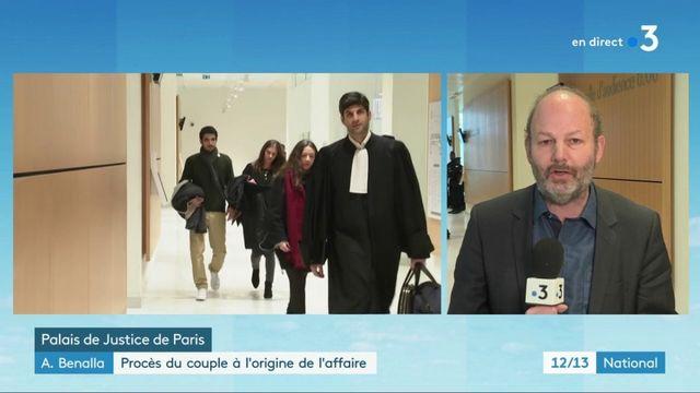 Affaire Benalla : début du procès du couple molesté