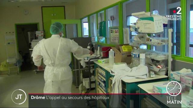 Coronavirus: les hôpitaux dans la Drôme bousculés par la recrudescence de l'épidémie