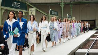 Final du défilé croisière Chanel 2019-2020, au Grand Palais à Paris, le 3 mai 2019 (OlLIVIER SAILLANT)