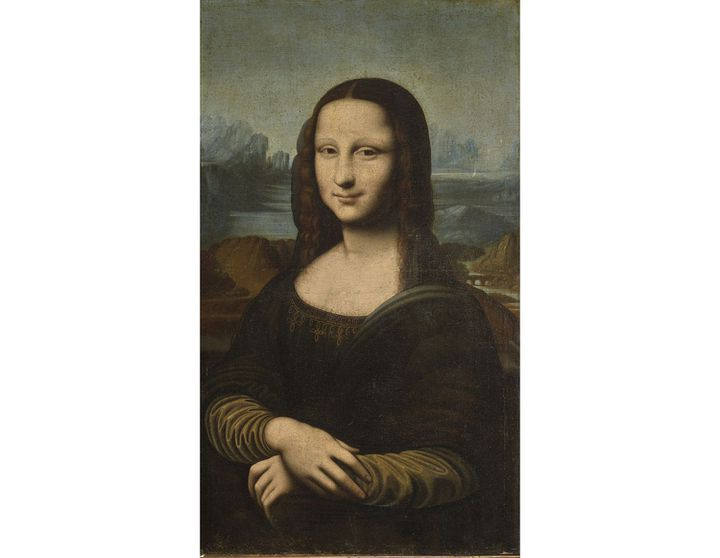 """Ecole italienne du début du XVIIe siècle, suiveur de Léonard de Vinci, """"La Mona Lisa Hekking"""" (détail),huile sur toile, estimation : 200 000-300 000 € (© Christie's Images Ltd, 2021)"""
