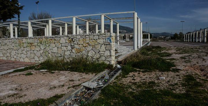 Le Village olympique des JO d'Athènes 2004, aujourd'hui à l'abandon