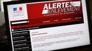 L'alerte enlèvement a été créée en 2006 en France. (THOMAS COEX / AFP)