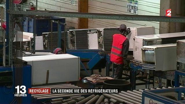 Recyclage : la seconde vie des réfrigérateurs