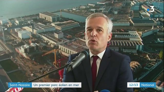 Saint-Nazaire : lancement du premier parc éolien en mer