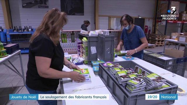 Noël : les fabricants français de jouets soulagés