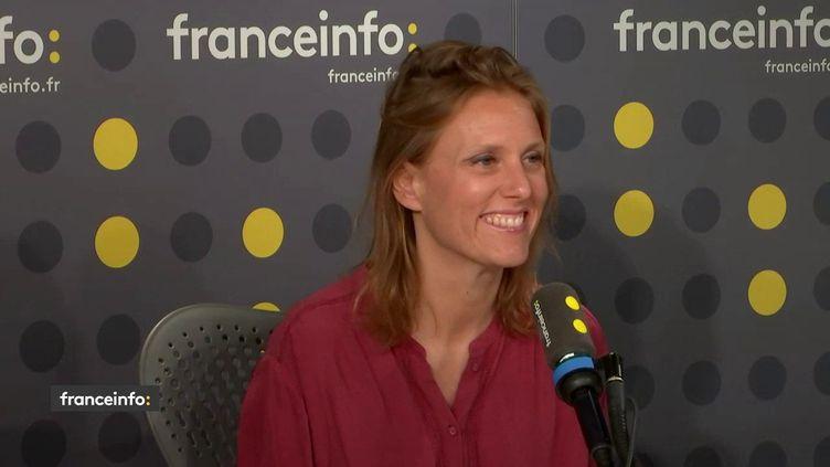 La présidente-fondatrice de Sybel, Virginie Maire, invitée de franceinfo le 24 février 2020. (FRANCEINFO / RADIOFRANCE)