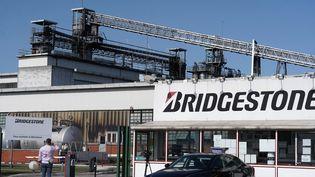 L'usine japonaise de pneus Bridgestone, à Béthune (Pas-de-Calais), le 17 septembre 2020. (SYLVAIN LEFEVRE / AFP)