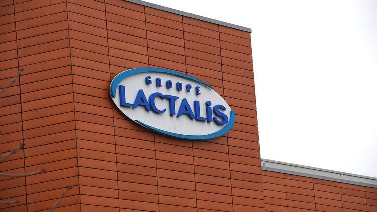 Le siège du groupe français Lactalis, à Laval (Mayenne). (DAMIEN MEYER / AFP)