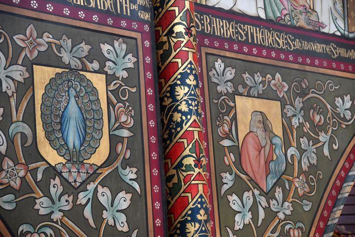 Fresque de l'église Saint-Joseph de Roubaix (PHOTOPQR/VOIX DU NORD/MAXPPP)